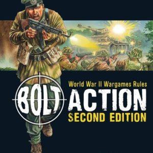 Bolt Action: World War II Wargames Rules (2nd Edition)