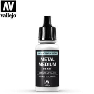 Vallejo Verf Metal Medium 17ml - 70.521