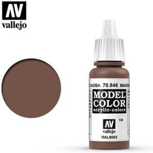 Vallejo Verf Mahogany Brown 17ml - 70.846