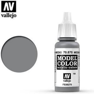Vallejo Verf Medium Sea Grey 17ml - 70.870