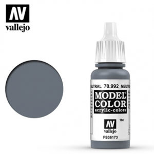 Vallejo Verf Nutral Grey 17ml - 70.992