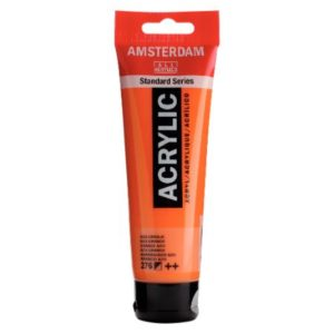 Amsterdam Acrylverf 120ml Azo Oranje (276)