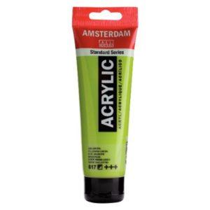 Amsterdam Acrylverf 120ml Geelgroen (617)