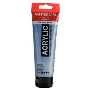 Amsterdam Acrylverf 120ml Grijsblauw (562)