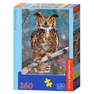 Castorland: Great Horned Owl (260)
