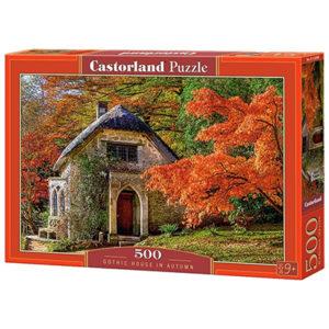 Castorland: Gothic House In Autumn (500)