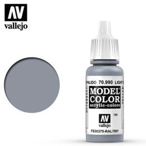 Vallejo Verf Light Grey 17ml - 70.990
