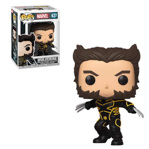 Funko POP! Marvel: X-Men 20th Ann. Wolverine in Jacket - 637