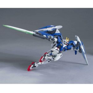 Bandai: Gundam: GN-0000+GNR-010 00 Raiser + GN Sword III HG00 1/144
