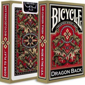 Bicycle Pokerkaarten Gold Dragon Back