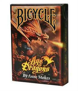 Bicycle Pokerkaarten Anne Stokes Age of Dragons