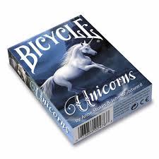 Bicycle Pokerkaarten Anne Stokes Unicorn