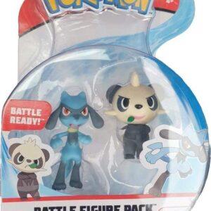 Pokemon Battle Figures Wave 7: (5-8cm) Pancham + Riolu