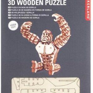 Houten 3D Puzzel Gorilla (105)