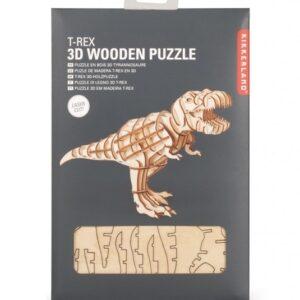 Houten 3D Puzzel T-Rex (51)