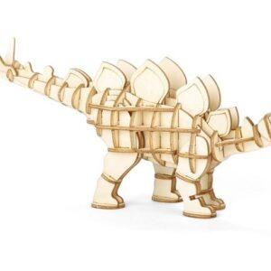 Houten 3D Puzzel Stegosaurus (70)