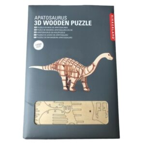 Houten 3D Puzzel Apatosaurus (64)