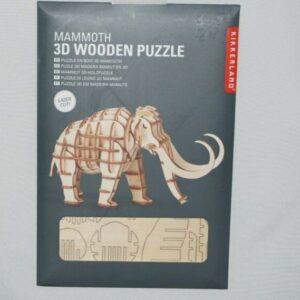 Houten 3D Puzzel Mammoet (50)