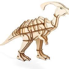 Houten 3D Puzzel Parasaurolophus(42)
