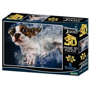 3D Image Puzzle Underwaterdogs (100)