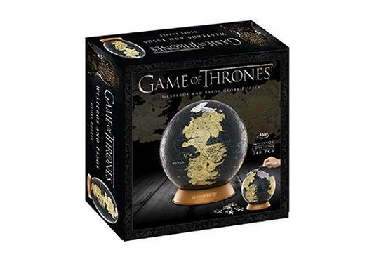 4D Cityscape, Game Of Thrones/The Unkown World 3D Globe (240)