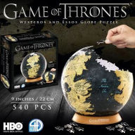 4D Cityscape, Game Of Thrones/The Unkown World 3D Globe (540)