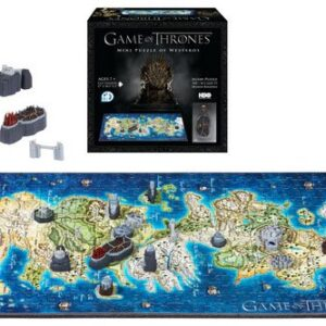 3D Mini City Puzzle Game of Thrones Westeros (350)