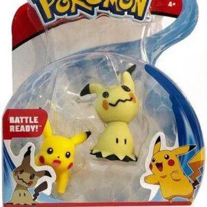 Pokemon Battle Figures Wave 7: (5-8cm) Mimikyu + Pikachu