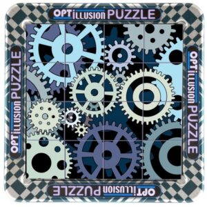 3D Magna Puzzle Small Optillusion Cogs (16)