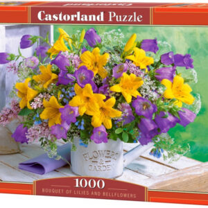 Castorland: Bouquet of Lilies and Bellflowers (1000)