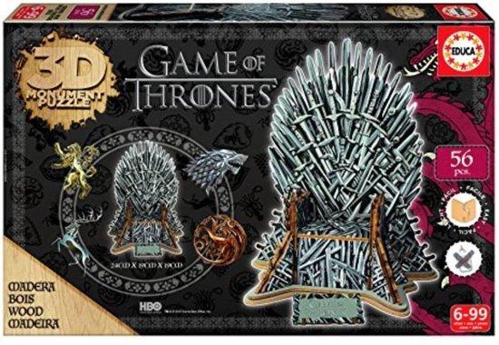 3D Sculpture Puzzle Game of Thrones (56)