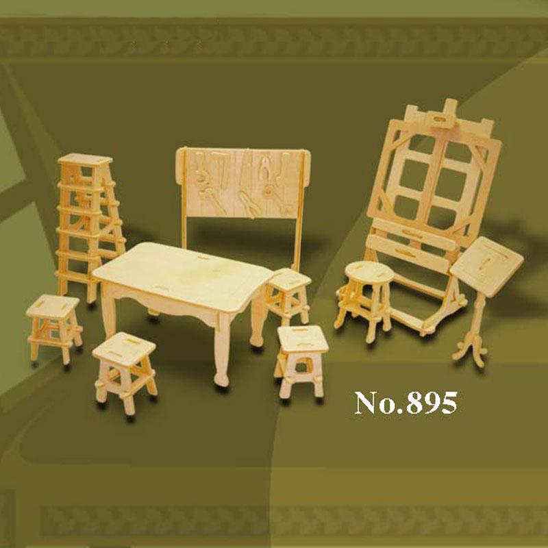 Bouwpakket Hout Kunst Atelier 1:2 895
