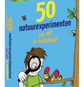 50 natuurexperimenten om zelf te ontdekken