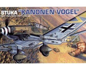 Academy Hobby Model Kits: JU87G-2 Stuka Konen Vogel (1:72)