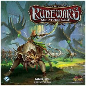 FFG Runewars Latari Elf Army