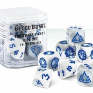 Blood Bowl The Dwarf Giants dwarf dice set