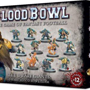 Blood Bowl Team The Dwarf Giants