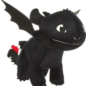 How to Train Your Dragon 3 Knuffel Figure Toothless Glow In The Dark 60cm