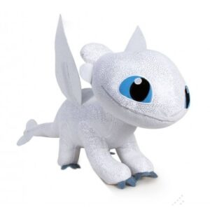 How to Train Your Dragon 3 Knuffel Tootless Glow in The Dark 32cm
