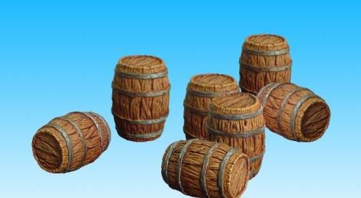 SpellCrow: Barrels - SPCH0012