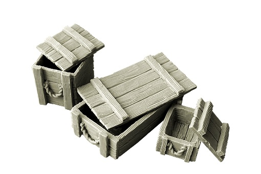 SpellCrow: Wooden Boxes - SPCH0028
