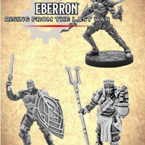 D&D 5.0 Eberron Warforged Cleric, Fighter & Monk