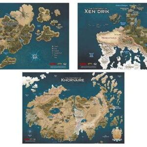 D&D 5.0 Eberron Rising from the Last War Map Set (3)