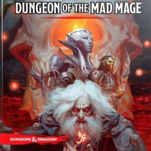 D&D 5.0 Dungeon of the Mad Mage RPG Book - EN