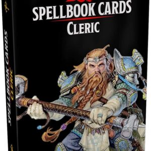 D&D 5.0 Spellbook Cards Cleric (153 cards)