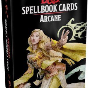 D&D 5.0 Spellbook Cards Arcane (257 cards)