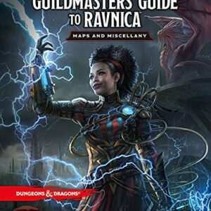D&D 5.0 Guildmaster's Guide to Ravnica Maps and Miscellany