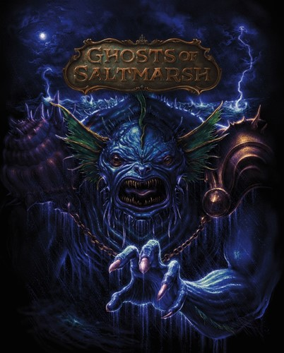 D&D 5.0 Ghosts of Saltmarsh Alt. Art Limited Edition