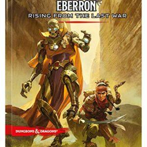 D&D 5.0 Eberron Rising from the Last War Adventure Book