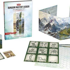 D&D 5.0 Dungeon Masters Screen Wilderness Kit